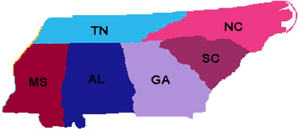 Southeastern US Sales